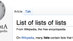 List of lists of lists